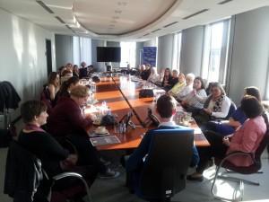 Frauen-Tagung in der EU, Brüssel