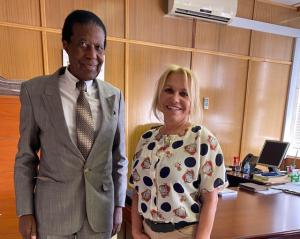 Dr. Zedekia Josef Ngavirue, Special Envoy, Namibia, Ministry of International Coop.