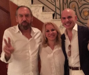 John Paul DeJoria & Pitbull