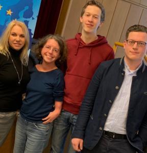 Katrin Langensiepen, MEP, Moritz Felix Mönkemeyer