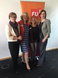 Ute Krüger-Pöppelwiehe, EAF Berlin Dr. Helga Lukoschat, Mareike Wulf, MdL